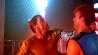 The Running Man - Arnold Schwarzenegger vs Jesse Ventura