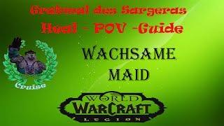 Wachsame Maid NHC - Grabmal des Sargeras - Heal POV  ( Guide ) - ToS Tomb of Sargeras Heal POV