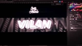 Speed Art » Vilan *// New Style? First 2D banner
