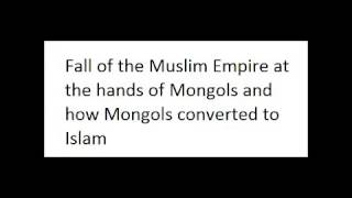 How Mongols finished a Muslim Empire - Urdu - A Lecture by Hazrat Dr. Iqbal Ali