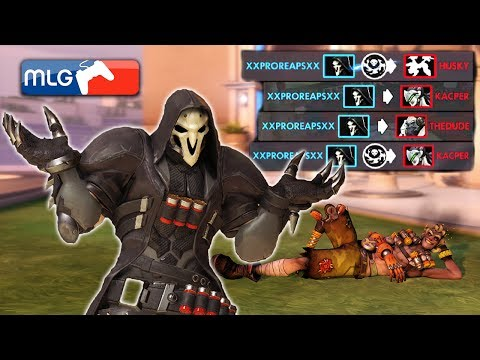The Worlds Luckiest Reaper Overwatch
