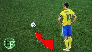 هدف زلاتان إبراهيموفيتش الذي اذهل العالم واثبت انه اسطورة كرة القدم الوحيد