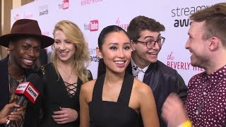 Smosh Squad Talks About Their Most Scandalous Moment On Set - Streamy Awards 2016