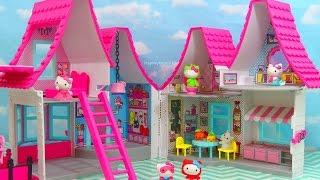 HELLO KITTY DOLLHOUSE NEW Toys Review | itsplaytime612