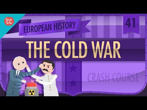 Post War Rebuilding and the Cold War Crash Course European History 41