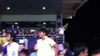 Shahrukh at IPL 2013 - KKR VS DD