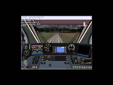 Simulatore Treno 5.00 Benevento Roma Termini via Caserta.mp4