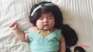 How a Sleeping Baby Became a Costumed Sensation | The Scene