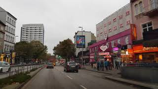 Driving 6 Hamburg City 4K St.Pauli HH October 2017