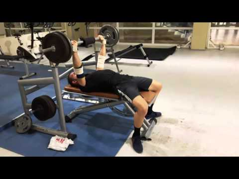 Bodyweight Bench Challenge Equipped Pussy-Pad