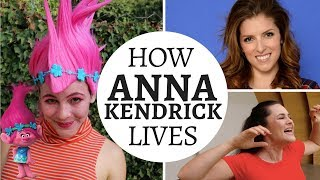I Lived Like Anna Kendrick for a Week | Cups Song, Pitch Perfect 3, Twitter, Trolls