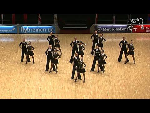DUET Perm RUS 2014 World Formation Latin DanceSport Total