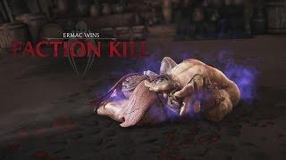 Mortal Kombat X All Brotherhood of Shadow Faction Kills! (60FPS)