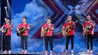 ViỆt Nam TÔi - G Band|tẬp 4 Tranh ĐẤu - The X Factor - NhÂn TỐ BÍ Ẩn 2016 Ss2