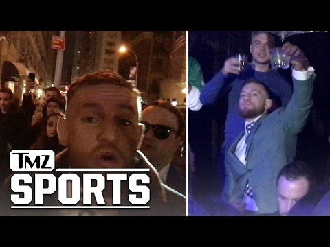 CONOR MCGREGOR Most Famous Irishman PARTIES HARD ON ST. PATRICK S DAY TMZ Sports