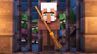 Zombie vs Villager Life 7 - Alien Being Minecraft Animation