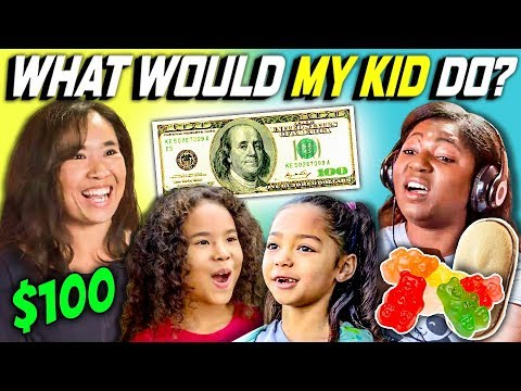 CAN PARENTS GUESS WHAT THEIR KID DOES WITH 100 DOLLARS Ep. 4