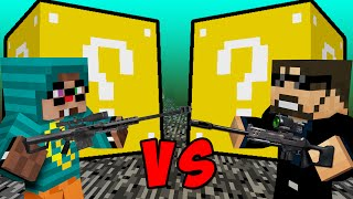 Minecraft: LUCKY BLOCK BATTLE - EXPLOSIVE SNIPERS & MEMES w/ Ssundee!