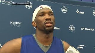 Joel Embiid says he wants to play more minutes | ESPN