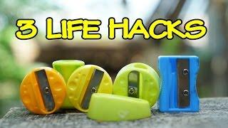 3 Life Hacks of Pencil Sharpener