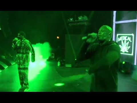 SNOOP BRINGS OUT DRE AT ALL STAR CONCERT