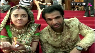On location of serial Saath Nibhaana Saathiya | 6th March