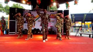 Patriotic Dance Theme | conquest dance crew | republic day 2015