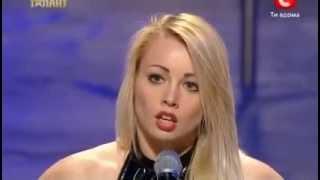 Ukraine's Got Talent - Anastasia Sokolova - Pole Dance (First Representation)