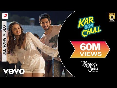 Kar Gayi Chull - Kapoor & Sons | Sidharth | Alia | Badshah | Amaal | Fazilpuria