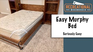 How to Build a Murphy Bed - Using Create-a-Bed Hardware Kit
