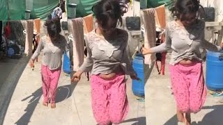RVCJ || Girl Boob Up Down sexy Dance On Bhojpuri Song ||