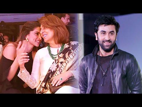 Deepika still trying to impress ex-boyfriend Ranbir's parents!?