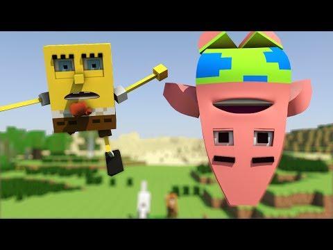 Spongebob in Minecraft 2 Animation