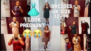 DOROTHY PERKINS TRY ON | UK SIZE 12-14 DRESSES 😭👗😢