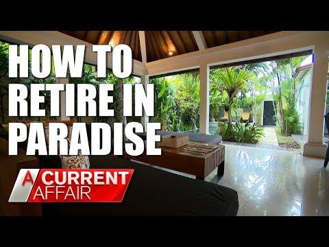 Retiring in Bali is easier than you think A Current Affair Australia