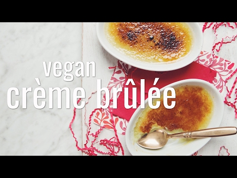 Xxx Mp4 VEGAN CRÈME BRÛLÉE Hot For Food 3gp Sex