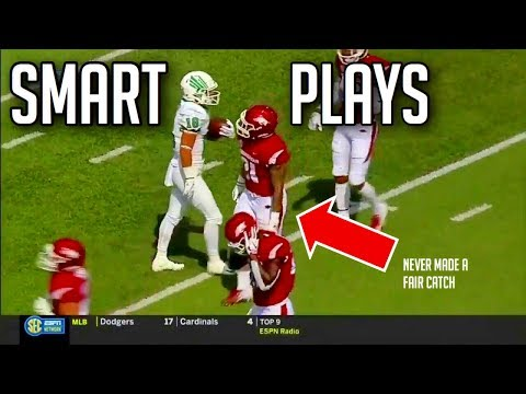 Smartest Plays In Football History HD Part 3