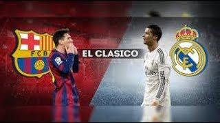 جميع اهداف اخر 10 مباريات بين برشلونة و ريال مدريد من 2014 الى 2018 youtube