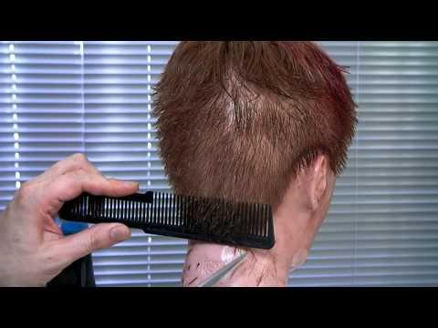Scissors Over Comb in Maniqui Footsteps Tijera Sobre Peine en Maniqui Paso a Paso