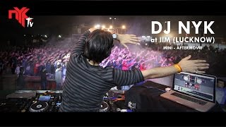 DJ NYK | Live at IIM (Lucknow) | Mini Aftermovie |  Electronyk Show |