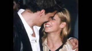 David Boreanaz and Sarah Michelle Gellar