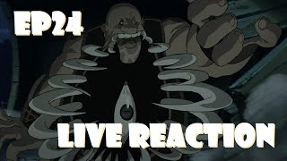 Fullmetal Alchemist: Brotherhood Live Reaction Episode 24 - Get In My Belly