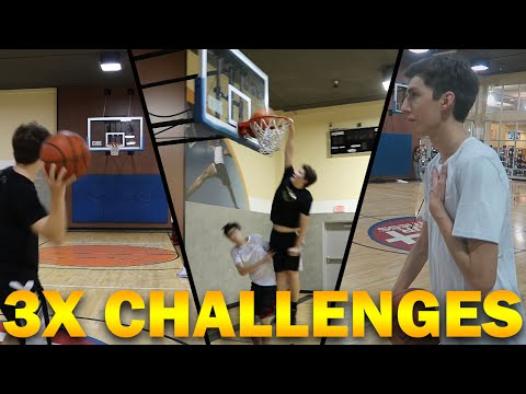 Xxx Mp4 3X BASKETBALL CHALLENGES VS LOSTNUNBOUND 3gp Sex