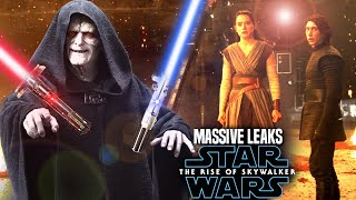 MASSIVE The Rise Of Skywalker Leaks! WARNING (Star Wars Episode 9 Spoilers)