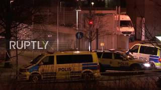 Sweden: Police station rocked by explosion in third attack on cops