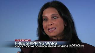 Few hours left for consumers to enjoy free shipping Friday ABC News