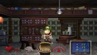 Luigi's Mansion Full Walkthrough/Gameplay GameCube HD 1080p Part 1 of 3