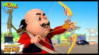 Motu Ki Teerandazi - Motu Patlu in Hindi - 3D Animation Cartoon - As on Nickelodeon