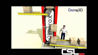 Prorunner Mk5 Vertical Elevator - Conveyor Systems Ltd
