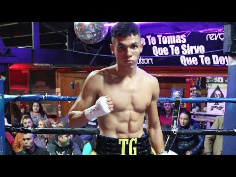 Devon Lee 1st round stoppage